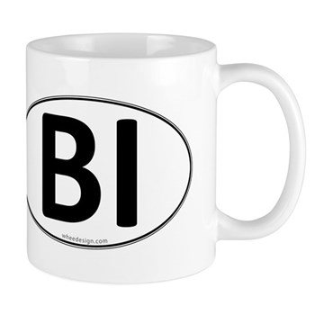 BI Euro Oval Mug