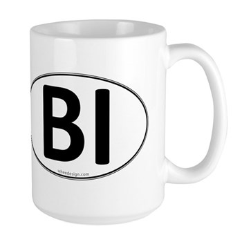 BI Euro Oval Large Mug