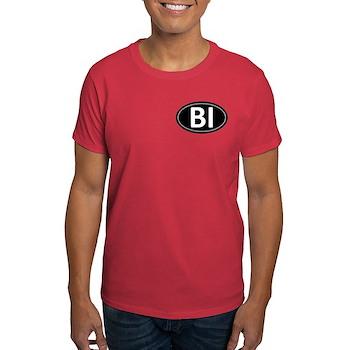 BI Black Euro Oval Dark T-Shirt