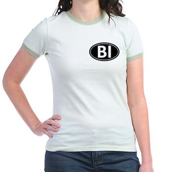 BI Black Euro Oval Jr. Ringer T-Shirt
