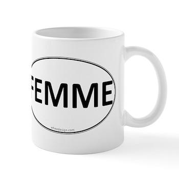 FEMME Euro Oval Mug