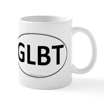 GLBT Euro Oval Mug