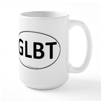 GLBT Euro Oval Large Mug