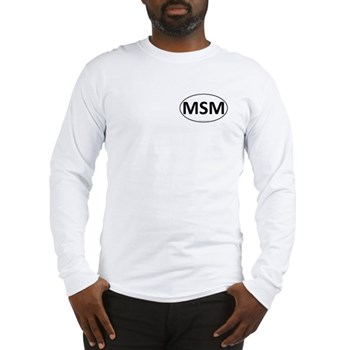 MSM Euro Oval Long Sleeve T-Shirt