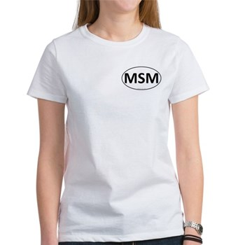 MSM Euro Oval Women's T-Shirt