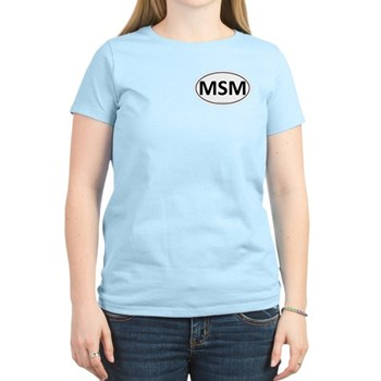 MSM Euro Oval Women's Light T-Shirt