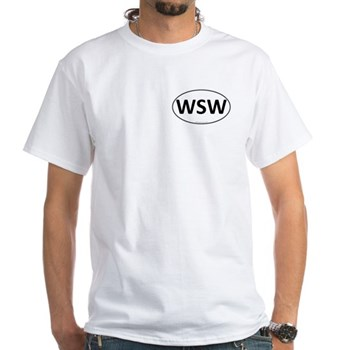 WSW Euro Oval White T-Shirt