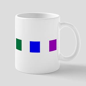 Rainbow Pride Squares Mug