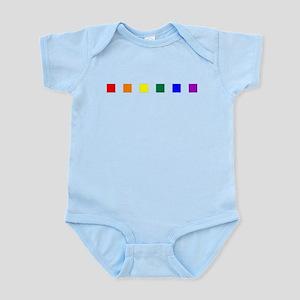 Rainbow Pride Squares Infant Bodysuit