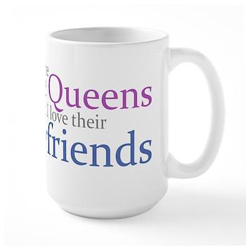 I Hate Size Queens Large Mug