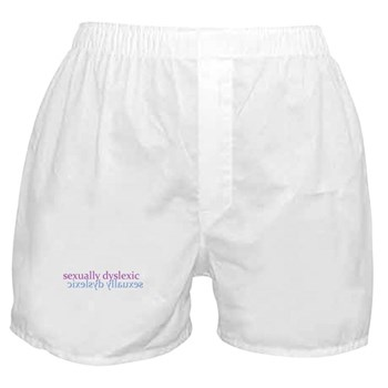 Sexually Dyslexic Boxer Shorts