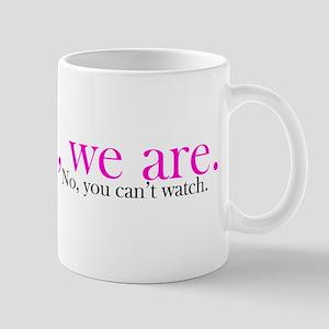 Yes, we are. Mug