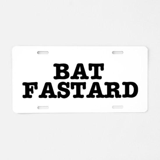 BAT FASTARD 2 Aluminum License Plate