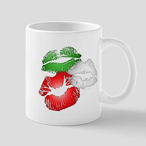 Italian Kissing Lips Mug