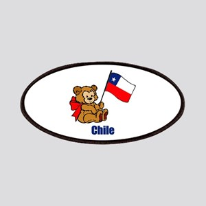 Chile Teddy Bear Patches