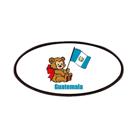 Guatemala Teddy Bear Patches