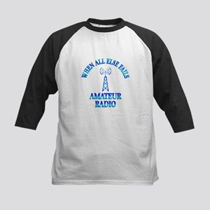 Amateur Radio Kids Baseball Jersey
