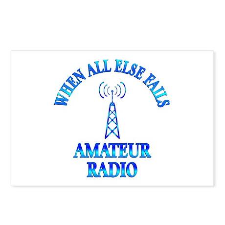 Amateur Radio Postcards (Package of 8)