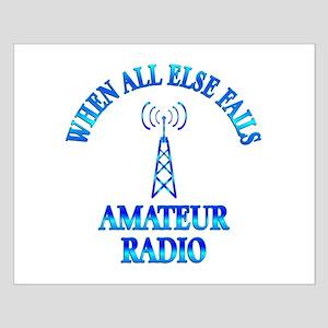 Amateur Radio Small Poster