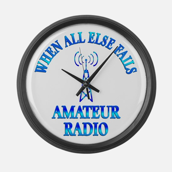 Amateur Radio Large Wall Clock