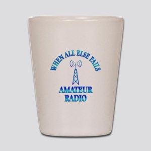 Amateur Radio Shot Glass