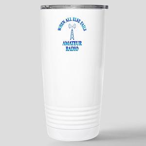 Amateur Radio Stainless Steel Travel Mug