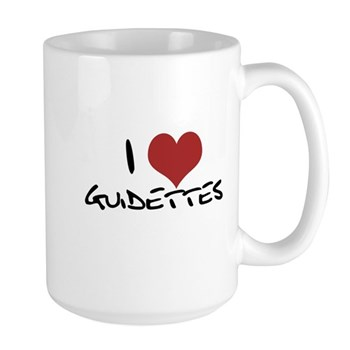 I Heart Guidettes Large Mug