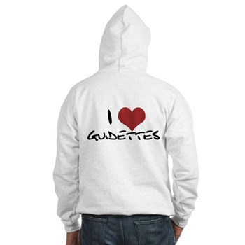 I Heart Guidettes Hooded Sweatshirt
