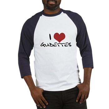 I Heart Guidettes Baseball Jersey