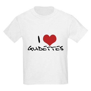 I Heart Guidettes Kids Light T-Shirt