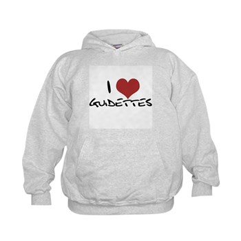 I Heart Guidettes Kids Hoodie