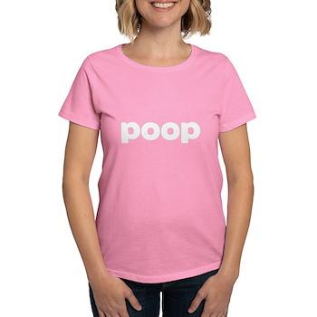 Poop Women's Dark T-Shirt
