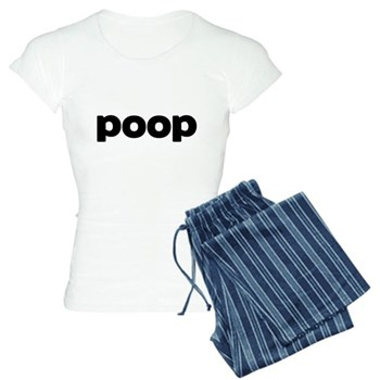 Poop Women's Light Pajamas