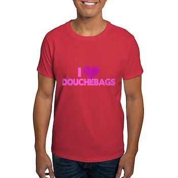 I Heart Douchebags Dark T-Shirt