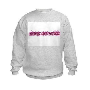Rock Goddess Kids Sweatshirt