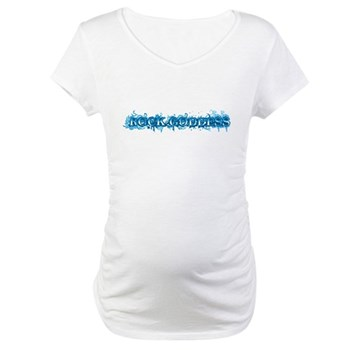 Rock Goddess Maternity T-Shirt