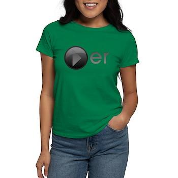 Player Women's Dark T-Shirt