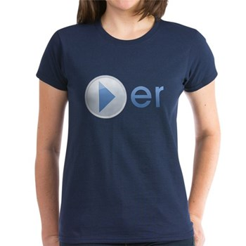 Player Women's Dark T-Shirt