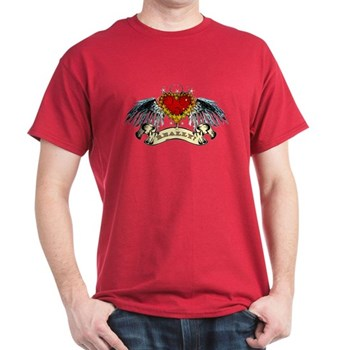 Really? Winged Heart Dark T-Shirt