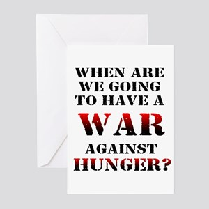 War on Poverty Greeting Cards (Pk of 10)