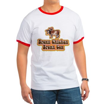 Brown Chicken Brown Cow 2 Ringer T
