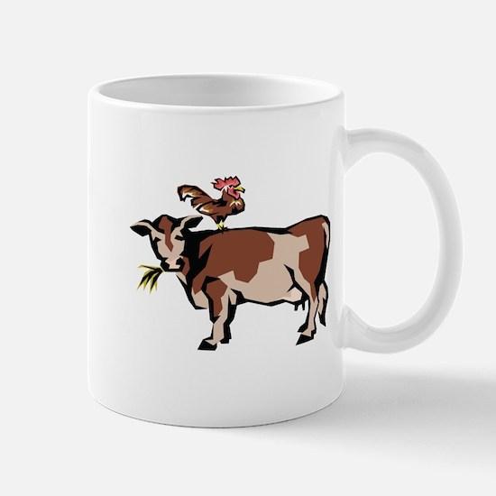 Brown Chicken Brown Cow 3 Mug