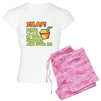 Stick that in your juicebox! Women's Light Pajamas