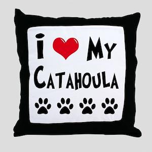 Catahoula Throw Pillow