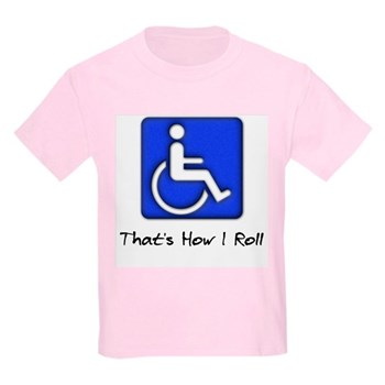 That's How I Roll Kids Light T-Shirt