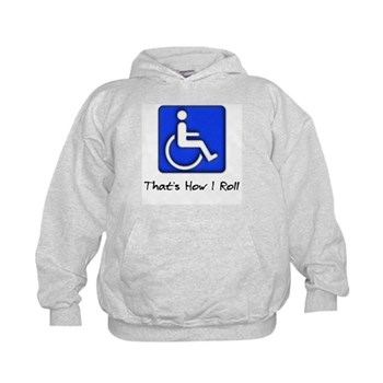 That's How I Roll Kids Hoodie