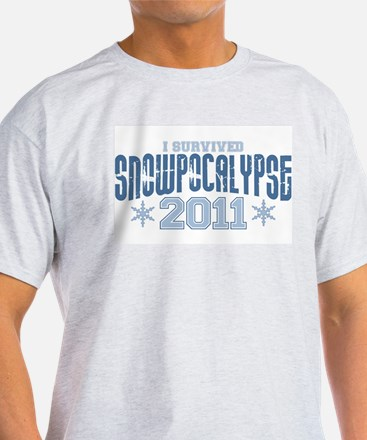 I Survived Snowpocalypse 2011 T-Shirt
