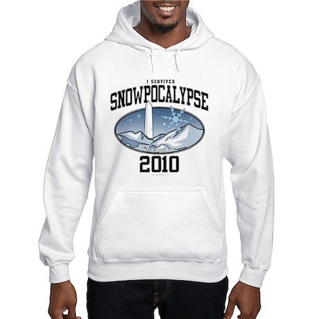 Snowpocalypse 2010 - Washington DC Hooded Sweatshi