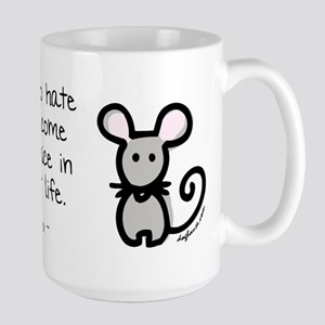 Come Back as Mice Large Mug