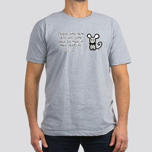 Come Back as Mice Men's Fitted T-Shirt (dark)